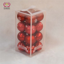 6cm 16 PCS christmas Tree balls sets, christmas bauble ball set,xmas ball