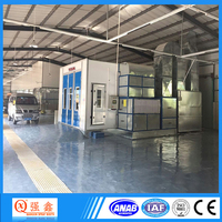 World Environmental Water Based Paint Booth