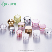 5/10/15g Different shape small containers for cream, mini cosmetic travel sample jars