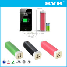 New design external battery power bank,external power bank for lenovo,tube external power bank
