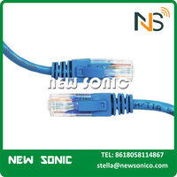 Best Price High Quality Cat5 RJ45 Connector Cable Cat 5 2 Pair UTP Cat5 Cable 1m 2m 5m AMP Cat6 Patch Cord