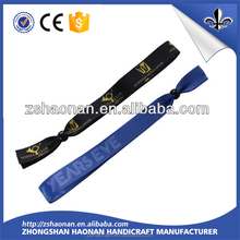 Hot sale custom different kinds of handicraft made wristband