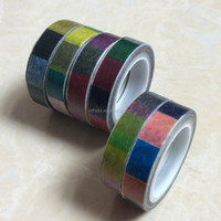 Shenzhen Manufacture Excellent Waterproof Paper Decoration Tape For Christmas Gifts