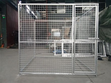 easy install lows chain link dog kennel wholesale