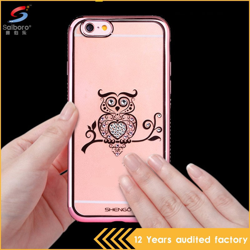 Accesories Mobile Waterproof Prestigio Phone Case For iPhone 6 Cover Diamond