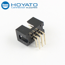 Gold-plated pin header box header connector 2 54mm pitch ic socket connector
