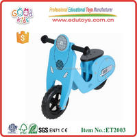 Goodkids Wooden Scooter Bike, High Quality Wooden Balance Scooter for Toddler