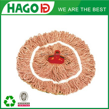 Ne 3s/10 180g circular colorful Aluminum handle cotton mop for house cleaning