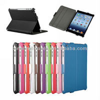 cases cover for Ipadmini for Apple Ipadmini stand three folders cover for Ipad