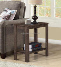 Hot selling modern end side small table panel mdf simple table cheap wooden table