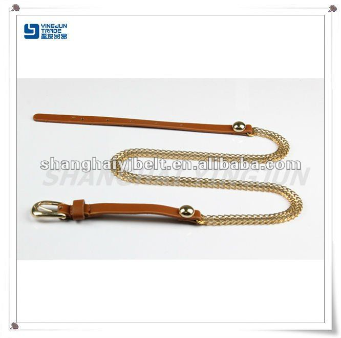 fashion new design gold chain belt for lady YJ10101-3