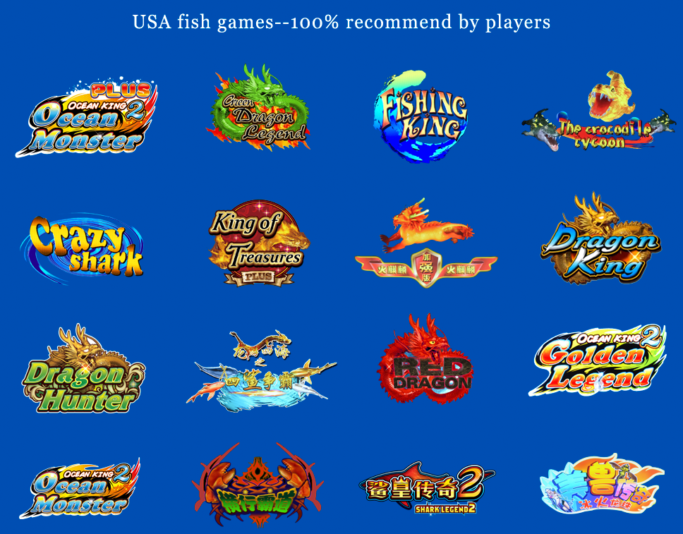 100 igs ocean king 3 fishing game machine with bill for Ocean king fish game