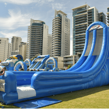 plaza swimming pool tube slide cheap inflatable dry slides for sale with high quality