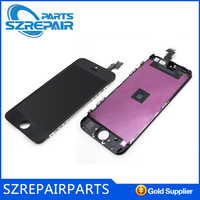 Free shipping! original lcd module for apple iphone 5, for apple iphone 5g retina lcd monitor, lcd screen for iphone 5