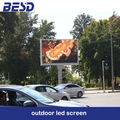 BESD high brightness outdoor full color p6 led screen/p10 led display/p16 led sign/p8 led video wall