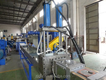 PP PE waste plastic film pelletizing granulation extrusion line