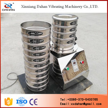 Laboratory milk testing sieve equipment with timer
