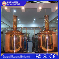 Zhengmai Copper Brew Kettle Durable 10bbl