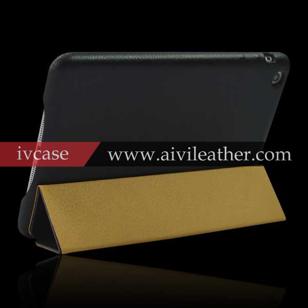 China Supplier New Product Flip Stand Leather Case For Apple iPad Air
