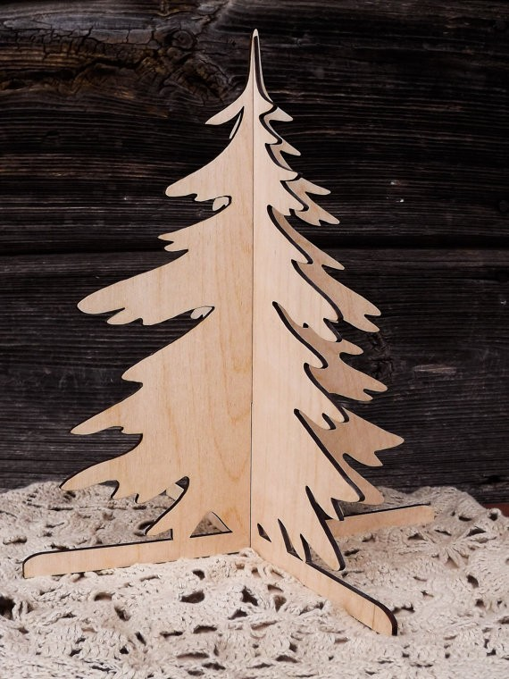 Wooden art mind carft Christmas tree for home and office decoration laser cut and engraving wood craft Christmas treewood christmas tree