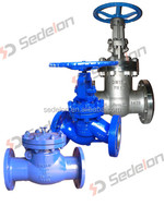 Sedelon Bolted Bonnet DIN Cast Carbon Steel Gate Globe Check Valve