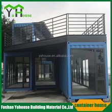 Durable low cost easy transportable prefab mobile container house factory price