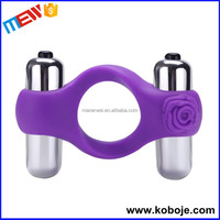 Double bullet vibrator male prostate the male penis massager