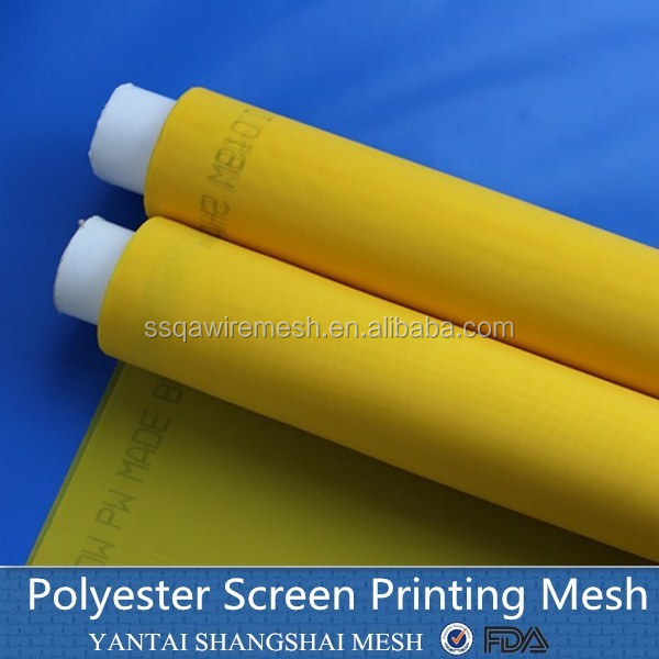 Plain Weave Type and Polyester Screen Printing mesh High tension 6T-165T monofilament nylon screen printing mesh