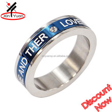 highly customized design walmart engagement rings with laser words
