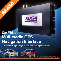 Taiwan Vehicle Video multimedia GPS Navigation Interface for Ford Kuga, Edge, Explorer, Escape, Focus and F-150 with CE, FCC