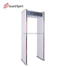 High quality Acrylic Security checking body scanner door,walk through metal detector door