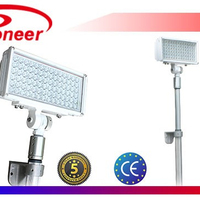 Electric portable led mobile light tower