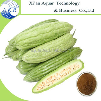 2017 ISO manufacturer supply momordica charantia extract/Bitter Melon Extract powder free sample