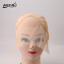 AOYASI Good quality lace front wig cap for making wigs