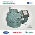 New 06DR725 Carlyle Compressor, 06DR718 06DR820 06D Carrier Semi-Hermetic Compressor for Refrigeration