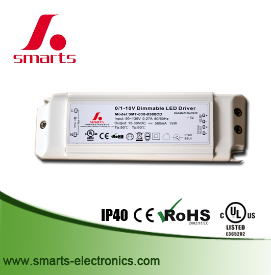 led driver 0-10v dimmable electronic transformer 12v 20w