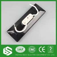 High power density circle infrared ceramic band heater