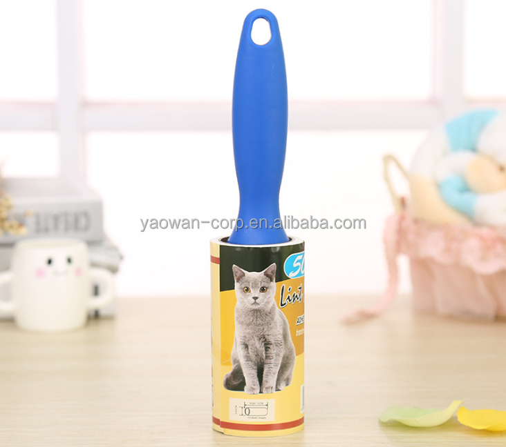 pet cat dog hair remover/cleaning sticky lint roller