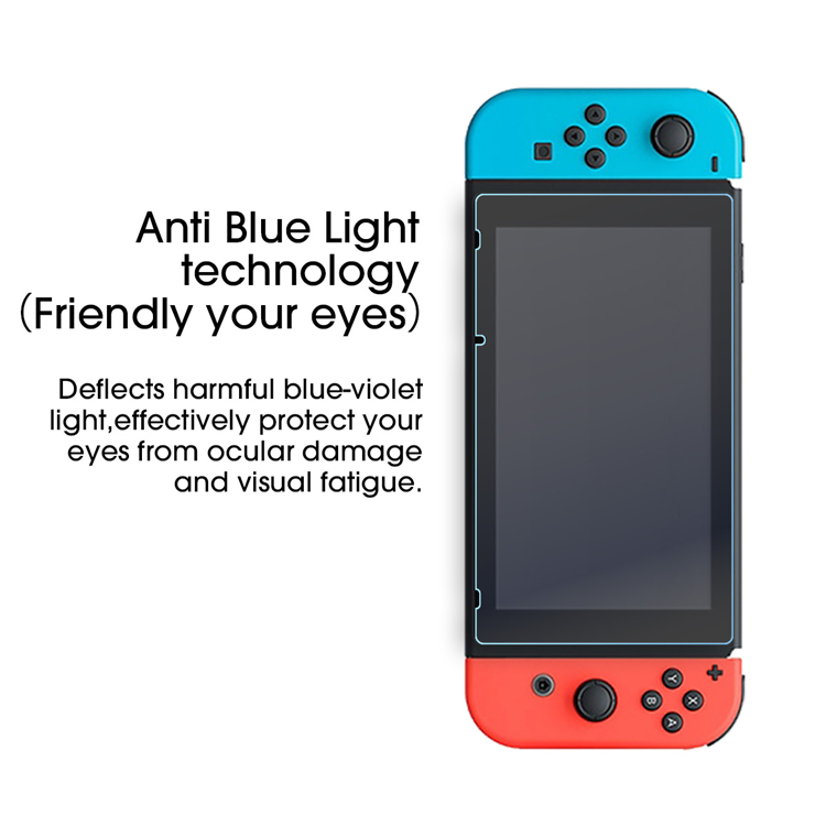 Tempered Glass Screen Protector for Nintendo Switch Screen Protector 2 Packs with accessories