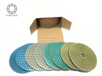 Diamond Polishing Pad for granite marble stone in fast polishing and high gloss