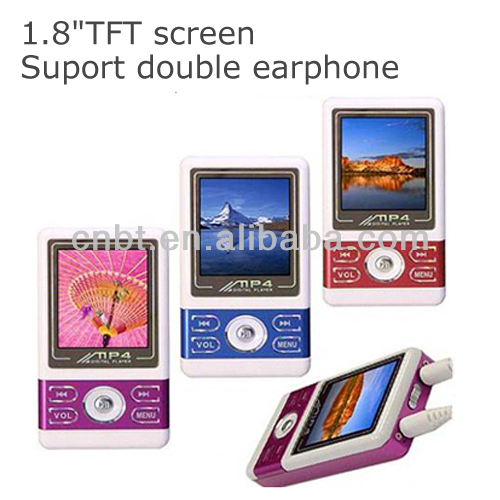 Beautitul mp4 digital player user manual with TFT screen