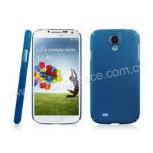 Bright blue plastic cover for samsung galaxy s4 case