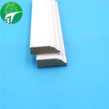 3T Decorative Primer Wooden Skirting Board S4S Pine Moulding