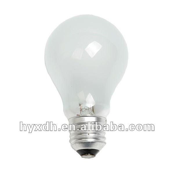 A55 220-240V E27 52W frosted halogen bulb