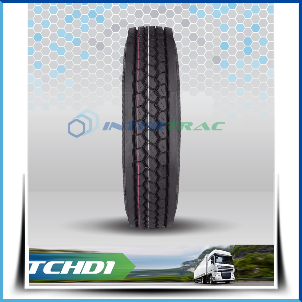 Intertrac brand 11r22.5 cheap lorry tyre