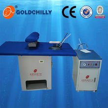 laundry shop steam iron table boiler commercial ironing equipment