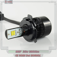 H1 hyundai i10 head lamp Fan-less car lights 9004/9007 LED headlamp