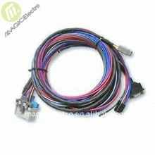 Wire Harness with 4- to 2, 3-pin Housing and DB-9 Plug, Customized Specifications are Accepted