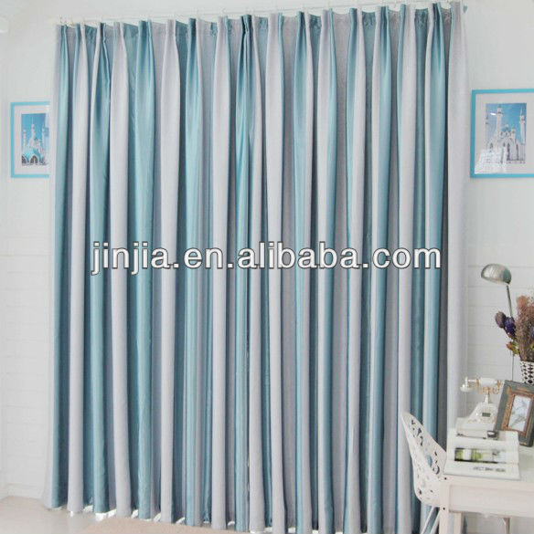 Decorative polyester printed designs for window curtains