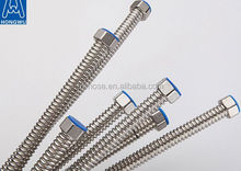 Stainless Steel 304 316L flexible Annular corruagted hose with pipe fittings with very low price